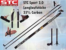 Carbon Langlauf Skistöcke Skating Stöcke Sport 150, 155, 160 cm