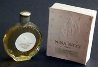 Vintage Nina Ricci, L'Air du Temps, EDT w Box, Disc Shaped Lalique Made Bottle