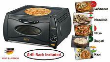 AGM Mini Tandoor Oven Lahmacun Manakish Pizza Chapati Roti Naan Bread Maker Gril