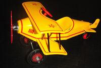 Pedal Air Plane Car WW1 RedProp Airplane Metal Collector >>READ FULL DESCRIPTION
