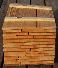 Holzschindeln Sib. Lärche 40cm, Holzschindel Gartenhaus Spielhaus Backofen
