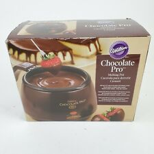 Wilton Chocolate Pro Melting Pot Excellent Condition electric fondue server