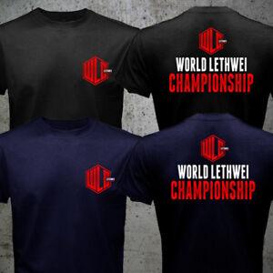 WLC Lethwei Burmese Bareknuckle Full Contact Boxing Fighting Muay Thai T-shirt