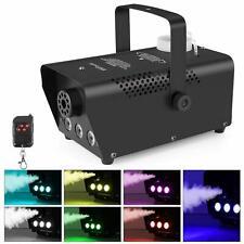 MVPower Nebelmaschine Mini 500 Watt Nebel drahtlos Effektmaschine DY Party LED