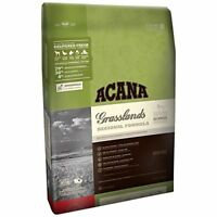 ACANA GRASSLANDS FOR CATS 12 OZ GRAIN FREE DRY CAT FOOD MADE IN CANADA