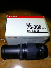 canon ef 75 300mm
