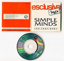 Simple Minds 3 inch-CD-PROMO made in Italy - 3-TRACK-Max CD 1-Don 't you +2