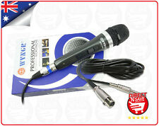 Wired Dynamic Microphone Hi-fidelity Unidirectional Mic Precision Audio WG-198