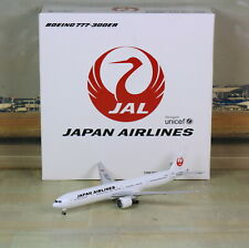 "Herpa/JC Wings JAL Japan Airlines B777-300ER ""VERY RARE"" 1/500"