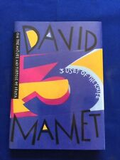 3 USES OF THE KNIFE. ON THE NATURE AND PURPOSE OF DRAMA - 1ST ED. BY DAVID MAMET