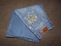 Men's Indigo 30 Denim Blue Jean Shorts Size 32 Embellished