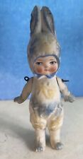 Antique Hertwig Doll - Boy in an Easter Rabbit Costume