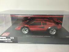 1/27 scale Kyosho Mini-Z Lamborghini Countach LP500S Chrome Red Kyosho 50th Anni