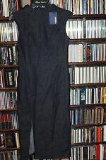 Zara Z1975  Sleeveless Sheath Dark Denim Dress w Slit S   NEW NWT  (bin105)