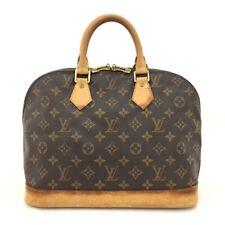 100% Authentic Louis Vuitton Monogram Alma Tote Hand Bag Purse /40652