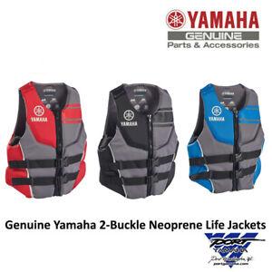 Yamaha Men's Neoprene 2-Buckle PFD Life Jacket Vest Multiple Colors MAR-20VNE