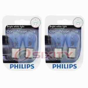 2 pc Philips Brake Light Bulbs for Saturn SC SC1 SC2 SL SL1 SL2 SW1 SW2 ed