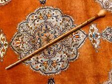 English Yew Walking Cane, Wonderful Condition, Creative Design.