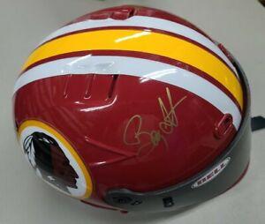 JOE GIBBS &  BOBBY LABONTE Signed WASHINGTON REDSKINS Racing Helmet AUTOGRAPHED