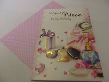 To A Special Niece On Your Birthday...........Birthday Greetings Card
