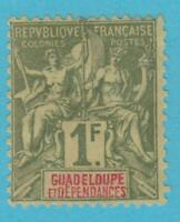 GUADELOUPE 44 MINT HINGED OG *NO FAULTS VERY  FINE !