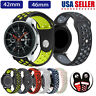 Replacement Sport Silicone Band Strap For Samsung Galaxy Watch Bracelet 42/46mm