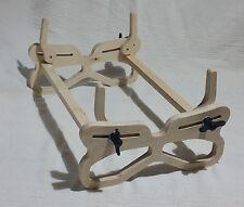 Teil-Q Ecostand Modellständer, CNC gefräster Bausatz, auch als Bootsständer
