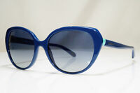 TIFFANY & CO Womens Vintage Sunglasses Blue Square HEART TF 4088 8179/4L 26682