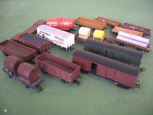 Lot de 15 wagons jouef