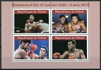 Chad 2019 MNH Muhammad Ali 4v M/S I Famous People Boxing Sports Stamps