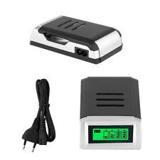 Universal Ladegerät Charger Batterie Aufladegerät AA AAA Schnelladegerät + Kabel