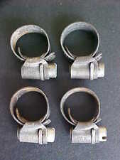 "Ferrari Fuel Line Hose Cheney Clamps_Vacuum_Water Hose Clamps 3/4""_Set of 4"