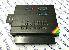DiVMMC EnJOY! PRO ONE SD card and Dual Joystick interface for ZX Spectrum!