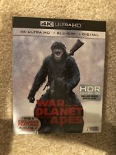 War For The Planet Of The Apes(4K Ultra Hd+Blu-ray+Digital) Brand New