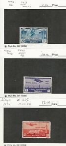 Libya, Postage Stamp, #C3, C15 Hinged, C11 Mint LH, 1931-34, JFZ
