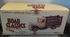 """Heritage Mint Ltd Road Classics 10"""" Wooden Stake Bed Truck Pine Finish RC01 New"""