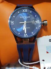 Orologio Locman Montecristo Donna Lady Titanio Gomma Blu Ref.520BB Nuovo 525€