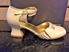 Kenneth Cole Shoes Satin  Snazz N Blues NEW Youth Girls SZ 4