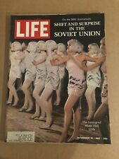 1967 November 10 Life Magazine Shift and Surprise in the Soviet Union (K11) 1