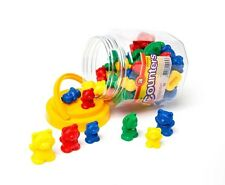 Counting Bears - Sorting Bears - 48 Bears - 3 sizes 4 colours