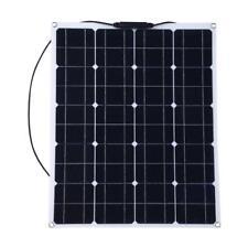 18V 80W Pannello Solare Fotovoltaico Monocristallino Flessibile Carica Batteria