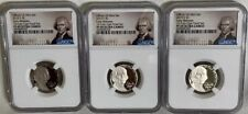 2019 S 3 Proof Nickels 5c NGC PF69 Ultra Cameo Jefferson Label Early Releases