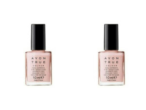 2 x Avon Nail Treatment True Colour Nail Experts 7 in 1  Strengthener  10 ml