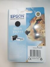 Genuine Epson T0711 Black Print Cartridge