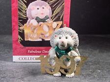 Hallmark Ornament 1997 Fabulous Decade Hedgehog Series #8 Qx6232