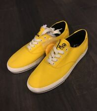 Polo Ralph Lauren Cp93 Cprl Shoes 93 New Boat Sneakers Yellow Size 11.5 Men's