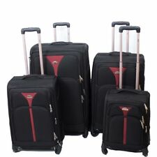 Unbranded Soft Spinner (4) Wheels Suitcases