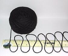 100 g Boule Noir Chunky Knitting Yarn 100% pur COTON Mercerisé British laine
