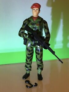 Vintage 1983 Palitoy Action Force Z Force Captain Campbell Complete GI Joe