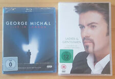 GEORGE MICHAEL : Live in London / Ladies & Gentlemen (1 BR + 1 DVD) NEU